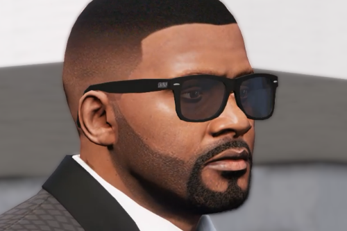 Franklin degrade hairstyle
