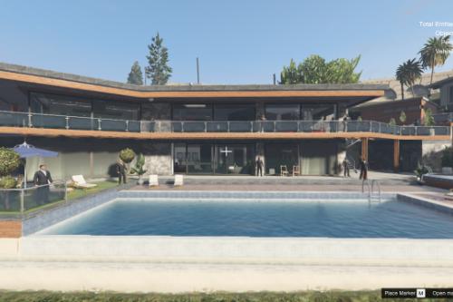Franklin Drug Mafia House (Menyoo)