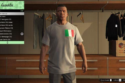 Franklin Realistic Italian T-Shirt - Magliette Italiane Realistiche [Replace]