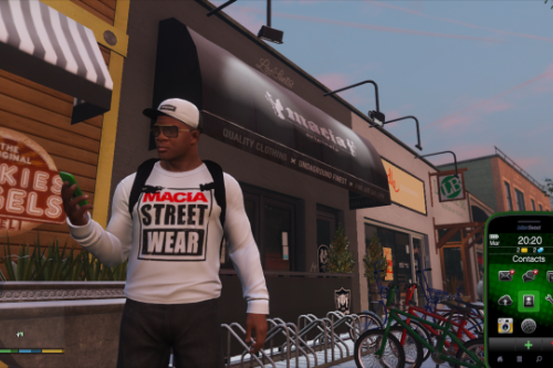 Franklin's Clothing Pack by Macia Crew