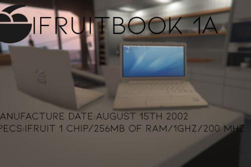 Franklin,s iFruit Book 1A LAPTOP RETEXTURE (BASED ON THE IBOOK G4)