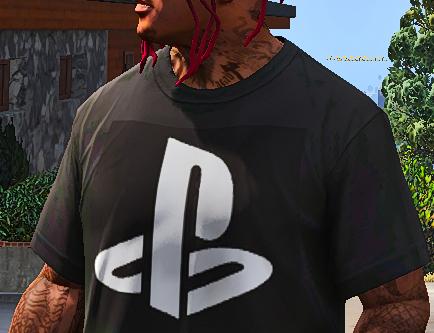 Franklin's PlayStation T-Shirt MOD