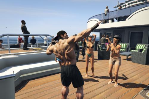 Vespucci Yacht Paradise party [Menyoo]
