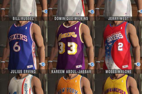 Franklin - Shirts Pack - NBA Legends