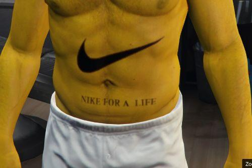 Nike tatoo for Franklin