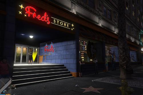 Fred's Store (Ghirardelli Disney Store) (Menyoo interior)