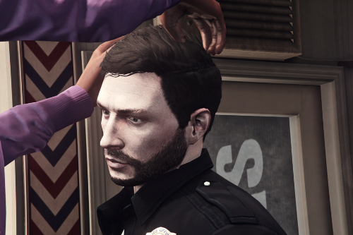 Freemode Male Haircut from Agent 14