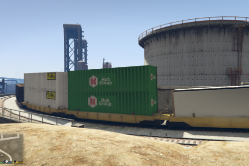 Freight Double Stacks \ Replace vanilla or compatible with Overhauled Trains