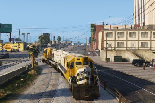 Freight Train Extended - East LS
