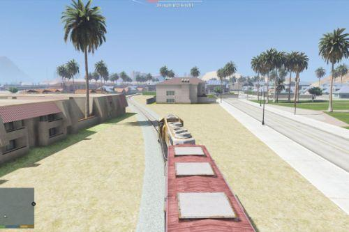 Freight Train Tracks for Las Venturas & San Fierro DLC