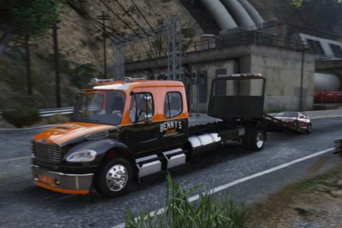 Freightliner M2 Flatbed Benny's Customs [Paintjob]