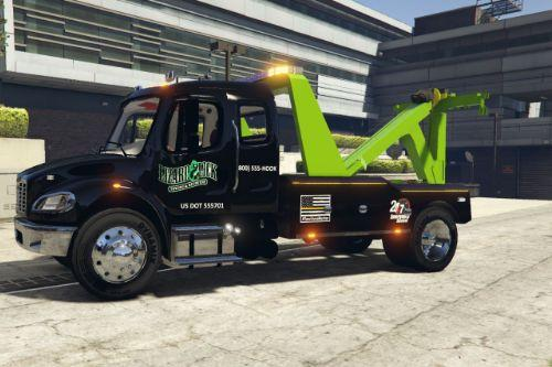 Freightliner M2 Tow Truck Texture