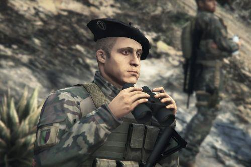 French Army - Chasseur Alpin