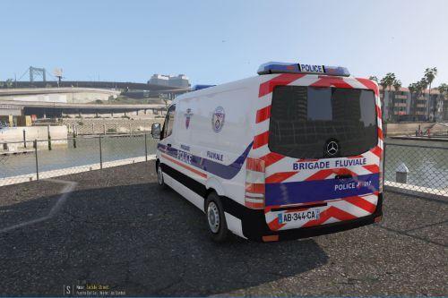 French Police Brigade Fluviale