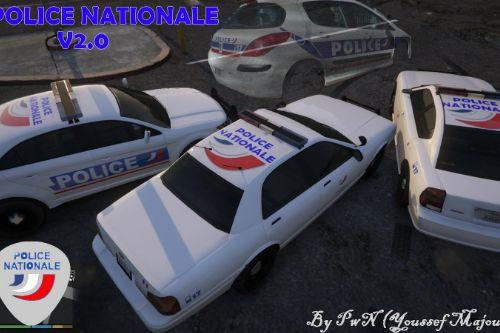French Police nationale pack