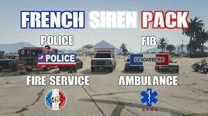 French siren pack / pack de siren FR [ELS]