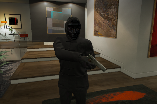 Front man Mask from Squid game for MP male
