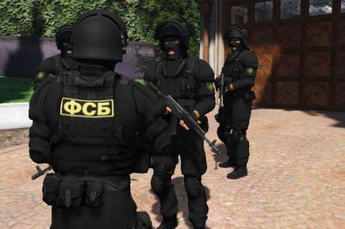 Russian FSB/ФСБ (Alpha Group)