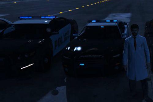 Full Blue Police Siren (+ Corona Removal)