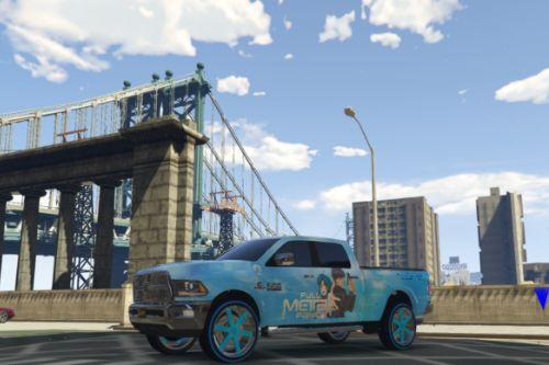 Full Metal Panic Livery for 2015 Dodge Ram 2500 (Updated)