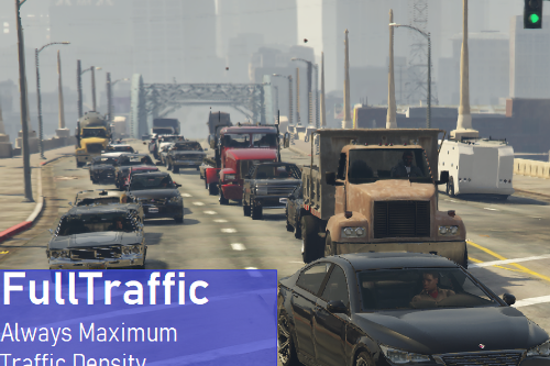 FullTraffic (Always Maximum Traffic / Vehicle Density)