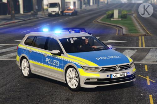 Funkstreifenwagen Polizei Schleswig-Holstein - Volkswagen Passat B8
