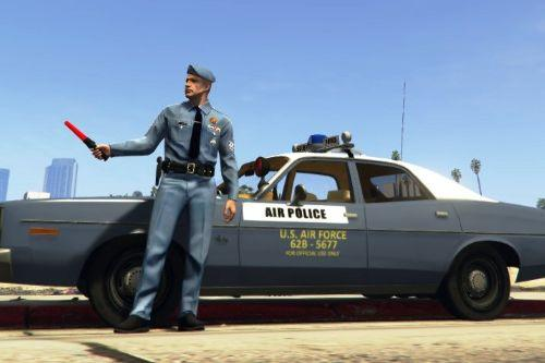 1970 Plymouth Fury USAF Security Police