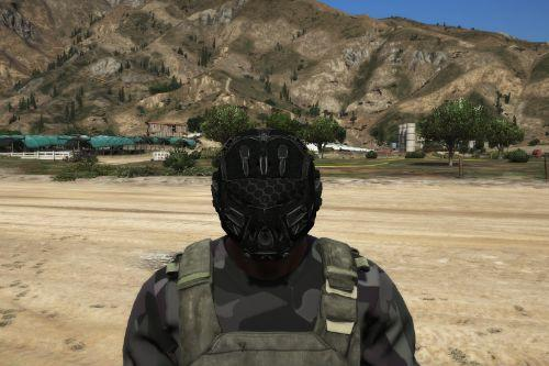 future military helmet to franklin
