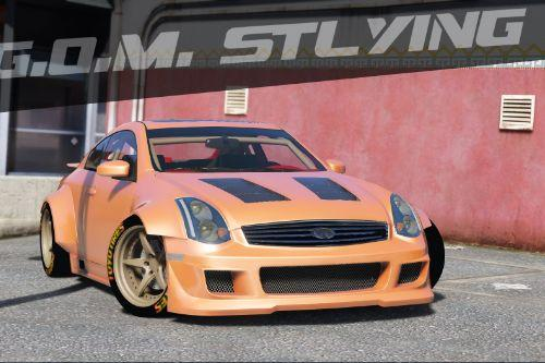 G.O.M. Styling Infiniti G35 [Add-On | Tuning | Template | Liveries | LODS]