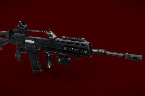 G36 Assault Rifle with Attachments