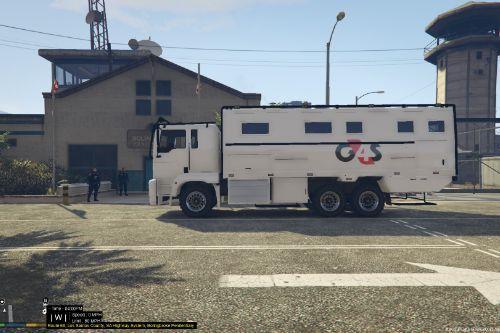 G4S Prison Van