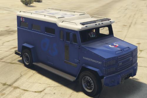 G4S Waardetransport Bus Dutch/Nederlands [FiveM/SP]