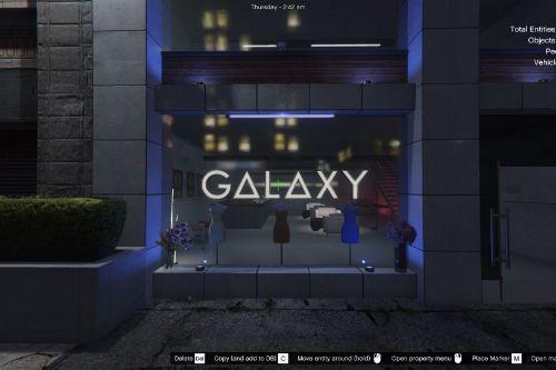 Galaxy Clothing Store [Menyoo/Ymap]