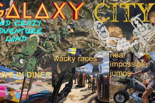 GALAXY crazy Adventure Trail and City