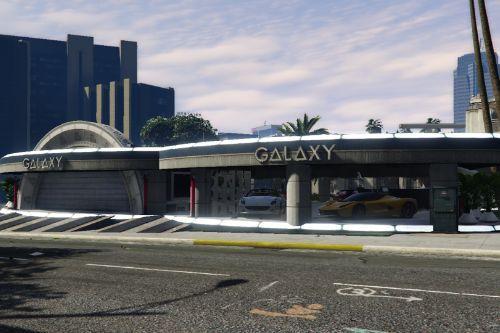 Galaxy Showroom Cars [Menyoo]