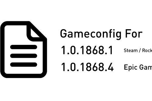 Gameconfig (1.0.1868.1/4) Crash Fix for Addon Vehicles and Peds