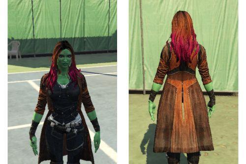 Gamora GOTG (Replace Model)