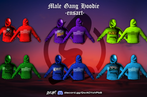 Gang Hoodie Jacket for MP Male