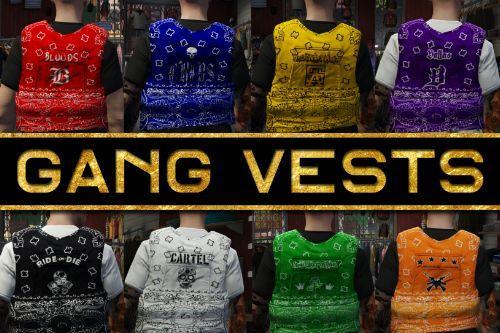 2k Gang Kevlar Vests [MP /  FiveM / SP]