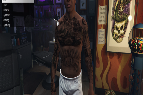 Gang Life 2 Tattoo Pack (Franklin)