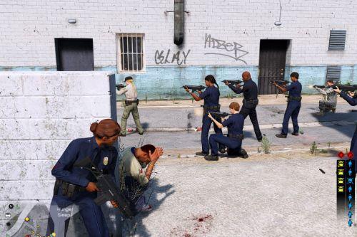 Gang War Reloaded (War-Combat Mod)