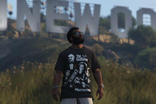 Gangster Movies T-shirt for Franklin