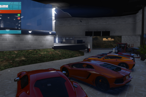 Garage Franklin [Menyoo]