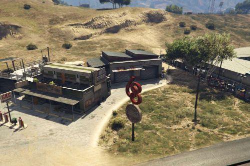 Garage road 68 exterior