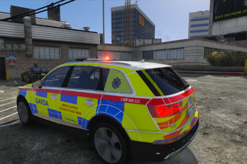 Garda 2016 Regional Support Unit Audi Q7