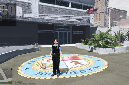 Garda Police Officer Skins