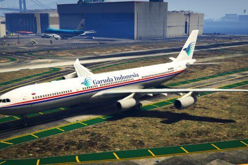 "Garuda Indonesia (China Eastern Airlines) ""B-2389"" Airbus A340-300"