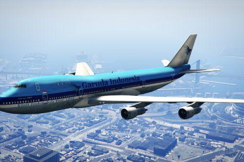 "Garuda Indonesia (KLM Livery) ""PH-BUE"" Boeing 747-200"
