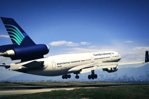 "Garuda Indonesia ""PK-GII"" Boeing / Donnell Douglas MD-11"