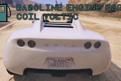 Gasoline Engine for Coil Voltic (sound + handling + speedometer texture)
